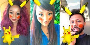 snapchat pokemon